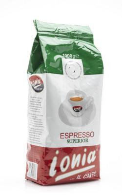 Superior export in beans Ionia Caffè
