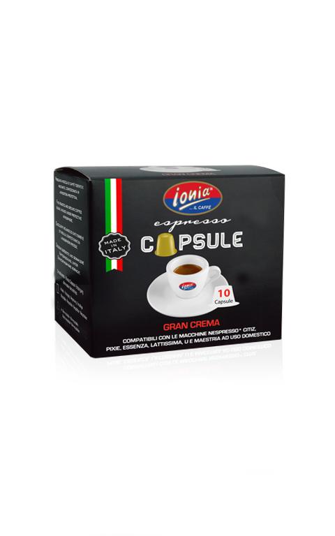 Capsule compatibili nespresso Gran Crema
