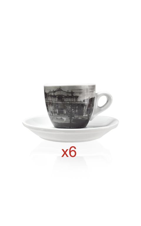 tazze espresso catania set 6