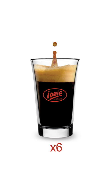 tazza espresso vetro